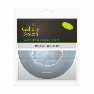 The Gallery System Clear Tape Droppers - Pack Shot