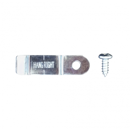 HangRight Clip and Screw Close Up