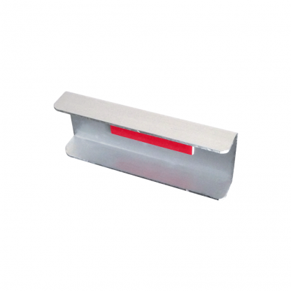 The Gallery Lighting System - Anodised Silver Straight Cover