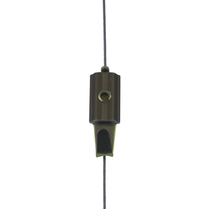 Slimline Art Hanging System Mini Hooks on Stainless Steel Cable (wire) Dropper