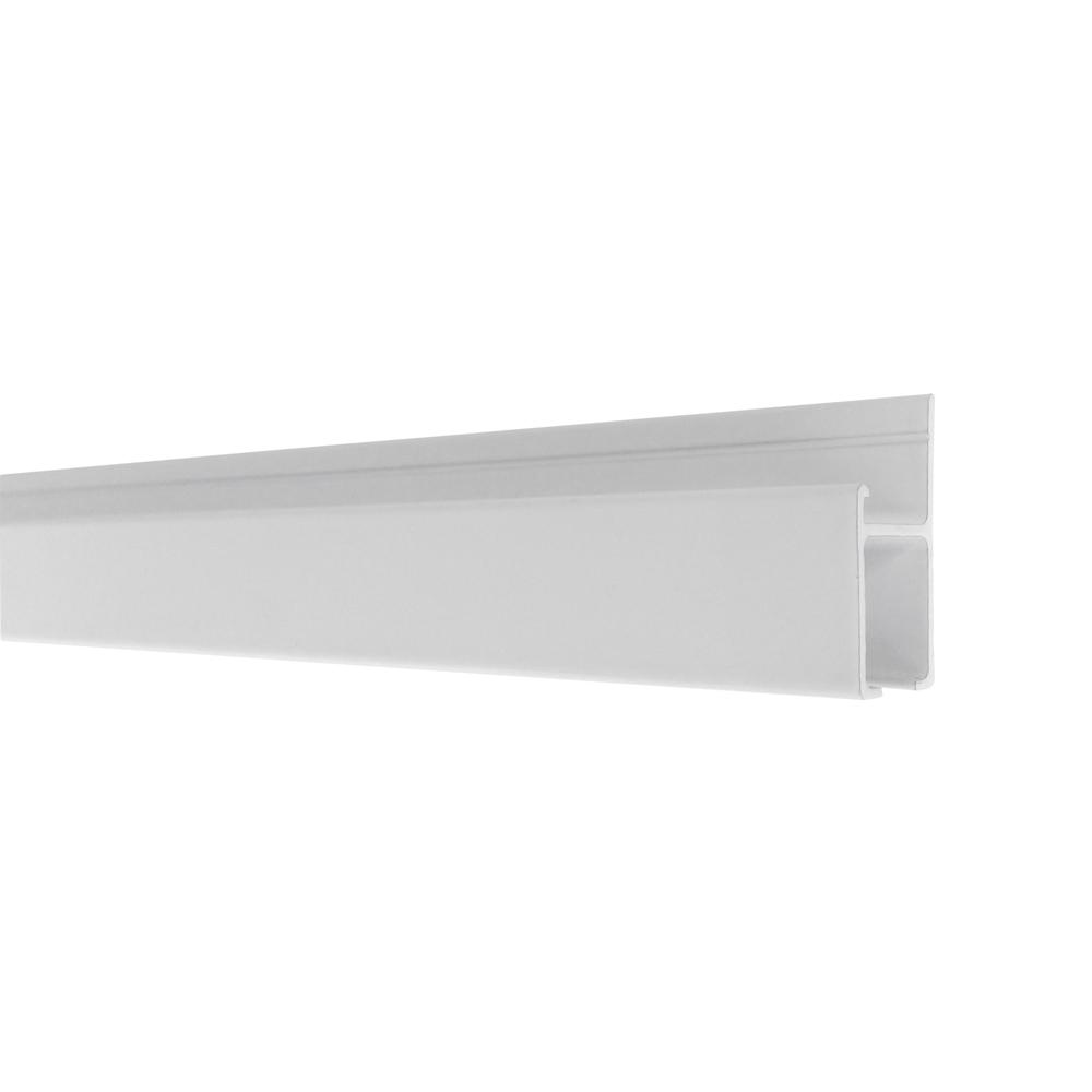 The Gallery System Track (rails) – Powder Coat White Finish