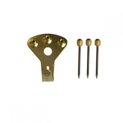Euro Style Brass Picture hook 3 Pin