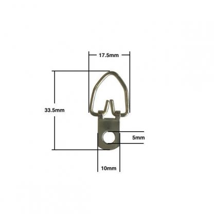 Narrow Strap Hanger with measurements