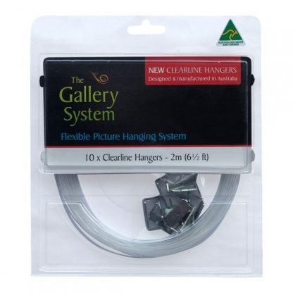Gallery System Clear line Droppers - Front Pack view