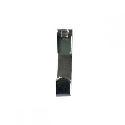Economy picture hook zinc plated - front profile