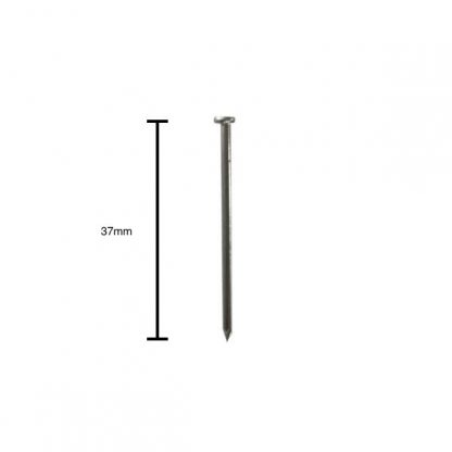 Economy picture hook zinc plated - pin with measurements