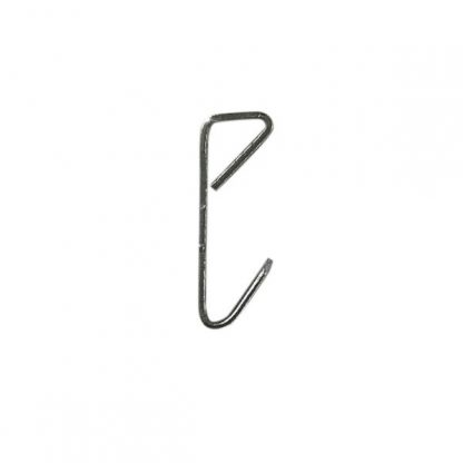 Economy picture hook zinc plated - side profile
