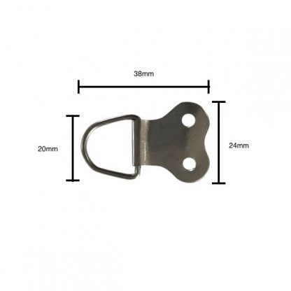 Kidney Bean Hanger with measurements