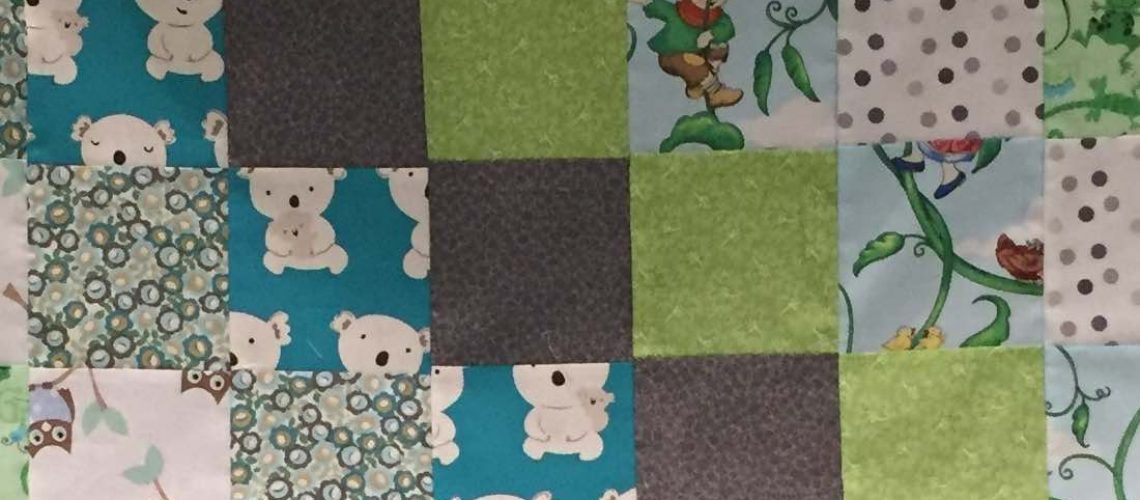 Hanging a Patchwork Quilt